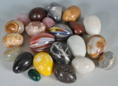 LARGE COLLECTION OF MAGIC GEMSTONE EGGS