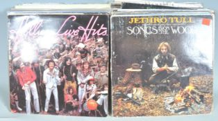 MIXED COLLECTION OF 55+ VINYL RECORD ALBUMS