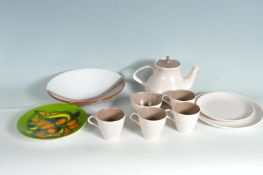 COLLECTION OF RETRO VINTAGE POOLE POTTERY