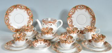 ANTIQUE EARLY 20TH CENTURY ROYAL STAFFORDSHIRE TEA SERVICE