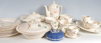 ROYAL DOULTON COPPICE PATTERN DINNER SERVICE
