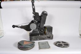 1950'S 9.5MM / 16MM PATHESCOPE 200B FILM PROJECTOR