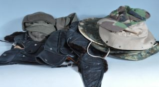 COLLECTION OF VINTAGE 20TH CENTURY HATS