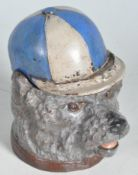 VINTAGE STYLE INKWELL IN THE FORM OF A DOG.