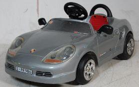 21ST CENTURY PORSCHE BOXSTER CHILDRENS PEDAL DRIVEN TOY CAR