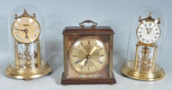 COLLECTION OF 20TH CENTURY CLOCKS