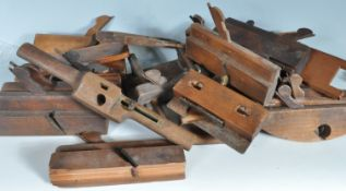 COLLECTION OF ANTIQUE WOODEN PLANES