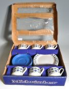 A retro vintage mid 20th century 18 piece Midwinter Roselle pattern tea service comprising of six