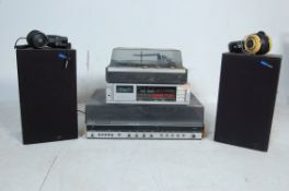 COLLECTION OF VINTAGE 20TH CENTURY AUDIO HI FI STEREO EQUIPMENT