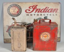 COLLECTION OF VINTAGE 20TH CENTURY MOTORING RELATED ITEMS