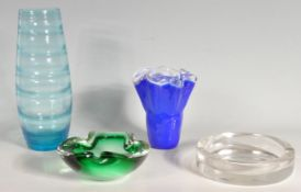 COLLECTION OF RETRO VINTAGE LATE 20TH CENTURY STUDIO GLASS ITEMS
