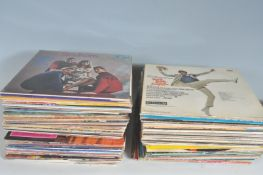 LARGE COLLECTION OF LP VINYL RECORDS