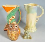 GROUP OF 20TH CENTURY CERAMICS