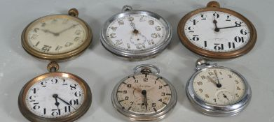 COLLECTION OF POCKET WATCHES AND SPARES
