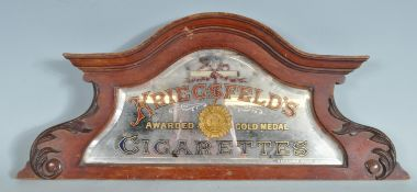 VINTAGE 20TH CENTURY POINT OF SALE CIGARETTES ADVERTISING SIGN