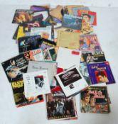 LARGE COLLECTION OF VINTAGE VINYL LP RECORDS