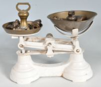 SET OF EARLY 20TH CENTURY LIBRASCO BALANCE SCALES