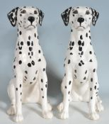 PAIR OF BESWICK DALMATIAN FIGURINES