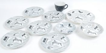 GROUP OF VINTAGE RETRO RDIGWAY HOMEMAKER POTTERY