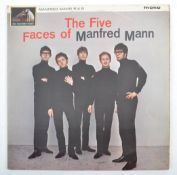 THE FIVE FACES OF MANFRED MANN - 1964 HMV LABEL