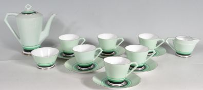 ART DECO STYLE NORITAKE TEA SET