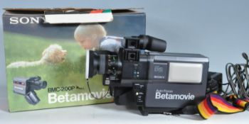 VINTAGE SONY BETAMOVIE BMC-200PK PORTABLE VIDEO RECORDER CAMERA