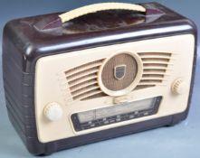 ULTRA - MID CENTURY BAKELITE CASED PORTABLE RADIO
