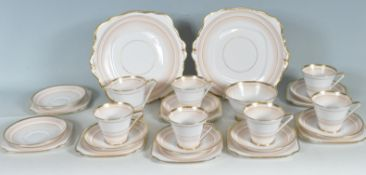BELL CHINA MADE IN ENGLAND TEA SET