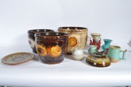 COLLECTION OF RETRO VINTAGE 1960S STUDIO ART POTTERY