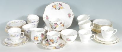 THREE DUCHESS BONE CHINA TEA SETS