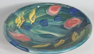 LOUISE GILBERT SCOTT - LOCAL BRISTOL ARTIST - LARGE CENTREPIECE BOWL