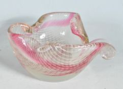 HARRACHOV HARRTIL CZECHOSLOVAKIAN GLASS BOWL