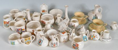 LARGE COLLECTION OF GOSS CERAMC WARE