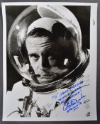 ESTATE OF DAVE PROWSE - CHARLES DUKE ASTRONAUT - DEDICATED AUTOGRAPH