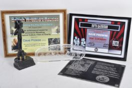ESTATE OF DAVE PROWSE - COLLECTION OF FAN AWARDS