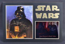 ESTATE OF DAVE PROWSE - STAR WARS AUTOGRAPH PRESENTATION