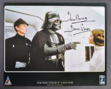 ESTATE OF DAVE PROWSE - STAR WARS - CELEBRATION EUROPE AUTOGRAPH