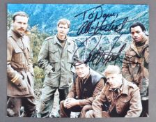 ESTATE OF DAVE PROWSE - CARL WEATHERS - SIGNED PHOTOGRAPH