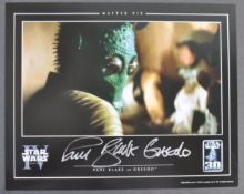 ESTATE OF DAVE PROWSE – STAR WARS OFFICIAL PIX SIGNED PHOTO