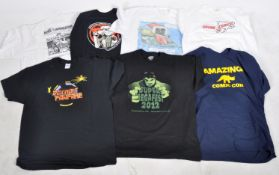 ESTATE OF DAVE PROWSE - COLLECTION OF T-SHIRTS