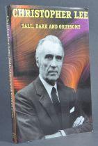 ESTATE OF DAVE PROWSE - HAMMER HORROR - SIR CHRISTOPHER LEE SIGNED BOOK
