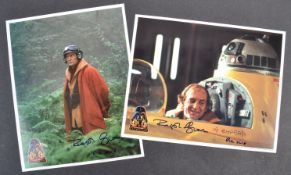 ESTATE OF DAVE PROWSE – STAR WARS OFFICIAL PIX CELEBRATION III SIGNED PHOTOS