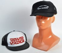 ESTATE OF DAVE PROWSE - TWO STAR WARS RELATED CAPS