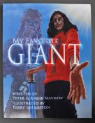 ESTATE OF DAVE PROWSE - MY FAVOURITE GIANT PETER MAYHEW SIGNED