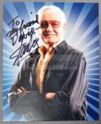 ESTATE OF DAVE PROWSE - STAN LEE (1922-2018) - DEDICATED AUTOGRAPH
