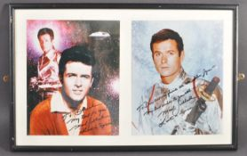 ESTATE OF DAVE PROWSE - LOST IN SPACE - MARK GODDARD SIGNED PHOTOS
