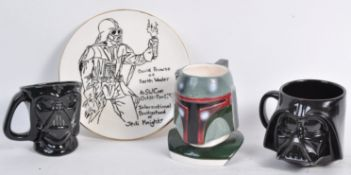 ESTATE OF DAVE PROWSE - STAR WARS - COLLECTION OF CERAMICS