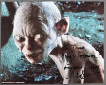 ESTATE OF DAVE PROWSE - ANDY SERKIS LORD OF THE RINGS SIGNED PHOTO