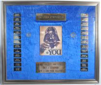 ESTATE OF DAVE PROWSE - STAR WARS - COSTUMING GROUP AWARD