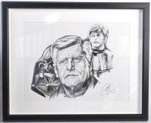 ESTATE OF DAVE PROWSE - SCOTT ROBINSON - ORIGINAL ARTWORK